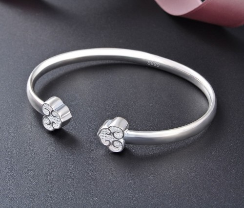 Western Fashion Retro Popular 990 Sterling Silver Bracelet Perfect Gift For Women