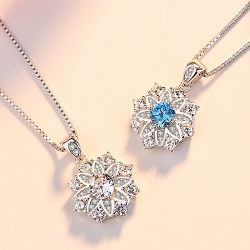 Noble and Elegant Lotus Necklace Perfect Valentine's Day Gift