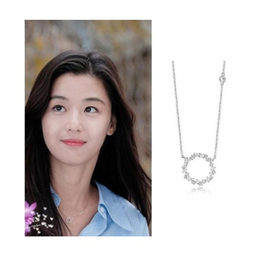 Romantic Guard Love  Sliver Necklace Valentine's Day Gift for Women