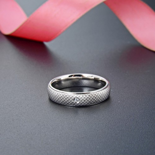 Korean Version Fashion Men 925 Silver  Rings For  Valentine's Day Gift