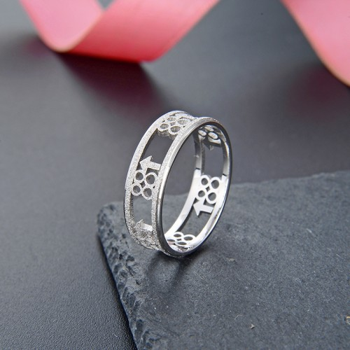 Simple Retro Style Sterling Silver  Rings For Men   Valentine's Day Gift